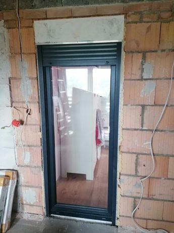 Okno PCV tarasowe