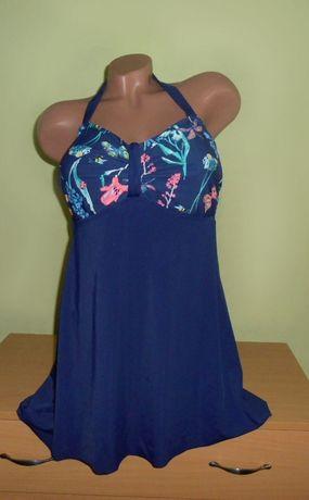 сплошной купальник платье 54-56 размер