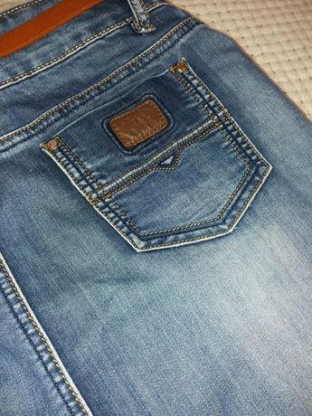 Классическая джинсовая юбка