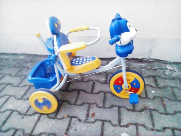 używany rower dziecięcy rowerek trzykołowy