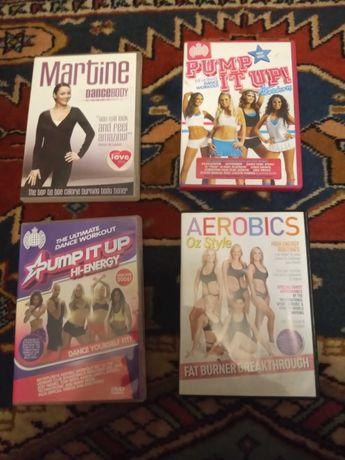 Zestaw 4 płyt Aerobik fitness
