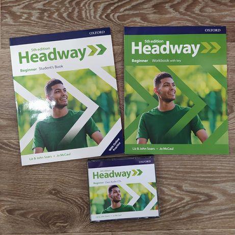 Учебник new headway 5th edition beginner student's book with online pr