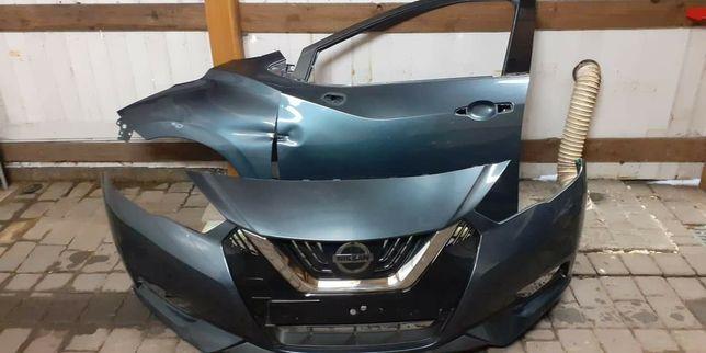 Nissan Mirca 2017 Zderzak , błotnik lewy przód , drzwi lewy przód