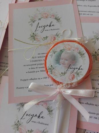 lizaki podziękowanie dla gości komunia chrzest ślub wesele