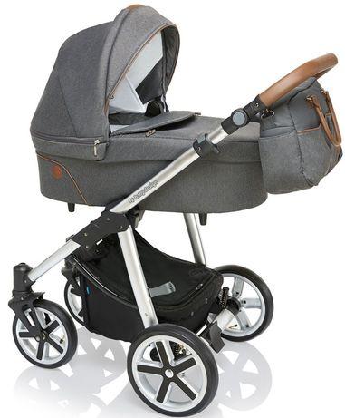 Коляска 2 в 1 Baby design dotty серая Espiro Tako Anex sport Adamex