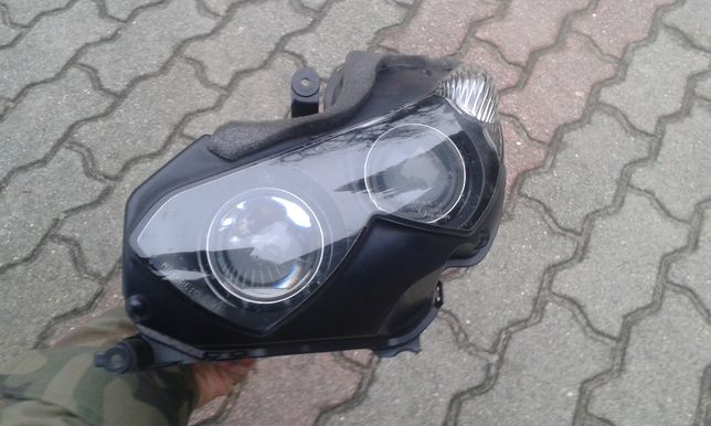 Kawasaki ZZR1400 ZZR 1400 reflektor lampa lewa