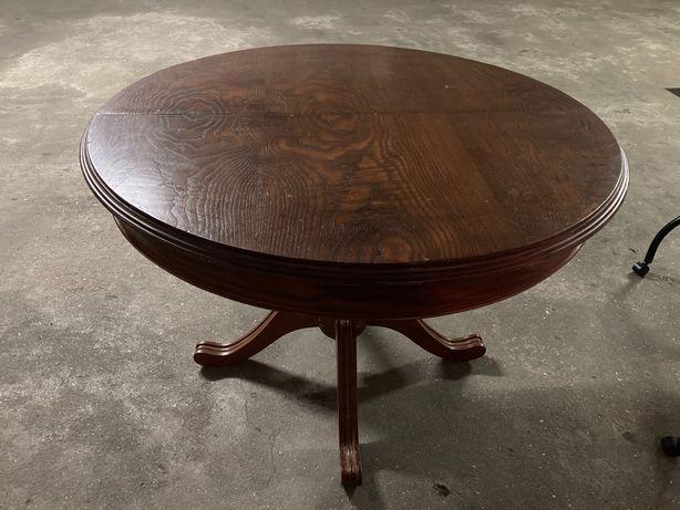 Mesa antiga de madeira com 4 cadeiras