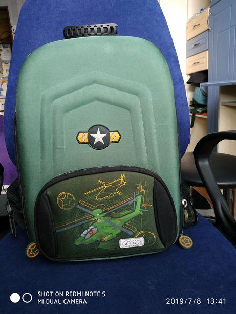 Рюкзак школьный ZiBi ортопедическая спинка. Размер 24*38*15