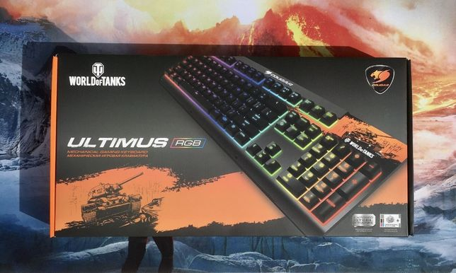 Cougar Ultimus RGB World of Tanks Механічна