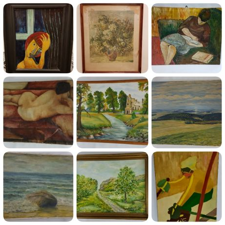 obraz Kobielusz, A. Boratyński, Tyniec, T. Tyszkiewicz, K.Wiśniewski