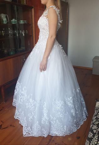Suknia ślubna 36 38 Antra model CLEO 165cm