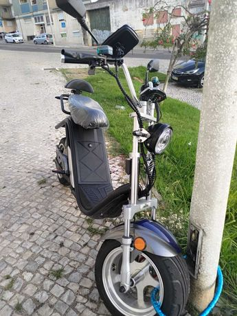 Scooter use only 6 days with (2 years warranty)
