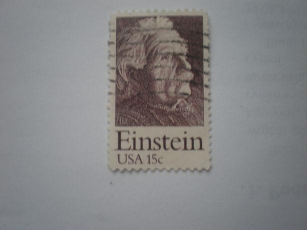 Znaczek 15c Einstein