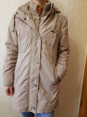 Куртка-пальто, теплая удлиненная куртка, очень удобная. Street one