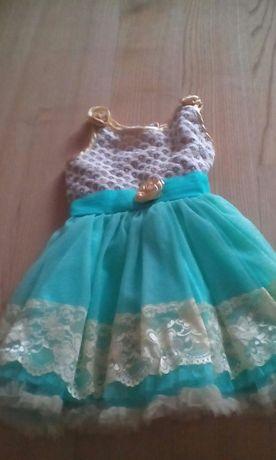 Imprezowa sukienka dla małej księżniczki