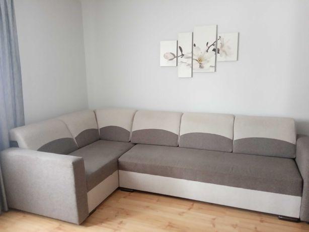 kanapa narożna rozkładana, narożnik do salonu