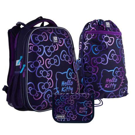 Школьный набор рюкзак + пенал + сумка Kite Hello Kitty HK21-531M