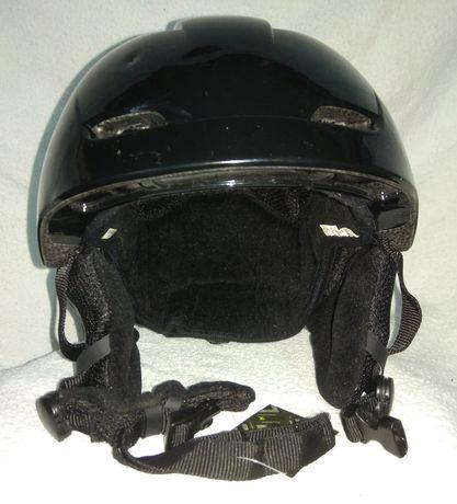 Защитный горнолыжный шлем Crane c фонариком