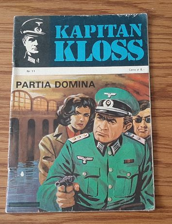 "Komiks Kapitan Kloss "" Partia domina"" nr 11 wyd. I z 1972 roku"