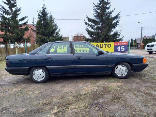"""Audi 100 """"cygaro"""" przebieg 162tys km."""