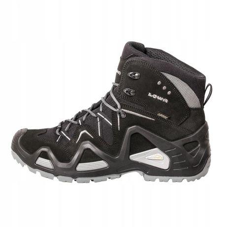buty taktyczne LOWA gtx mid czarne goretex zephyr z6n z-8s taktyczne