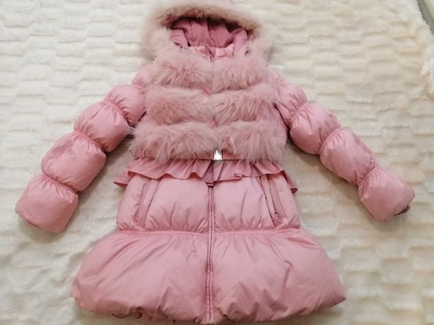 Дитяче пальто-пуховик Snowіmage