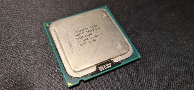 CPU Intel Core 2 Duo 2.93Ghz - E7500 (socket LGA 775)
