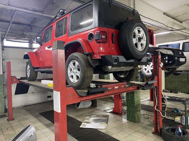 Продам подьемник автомобилей OMA 4 ех стоечный на 4 тонны