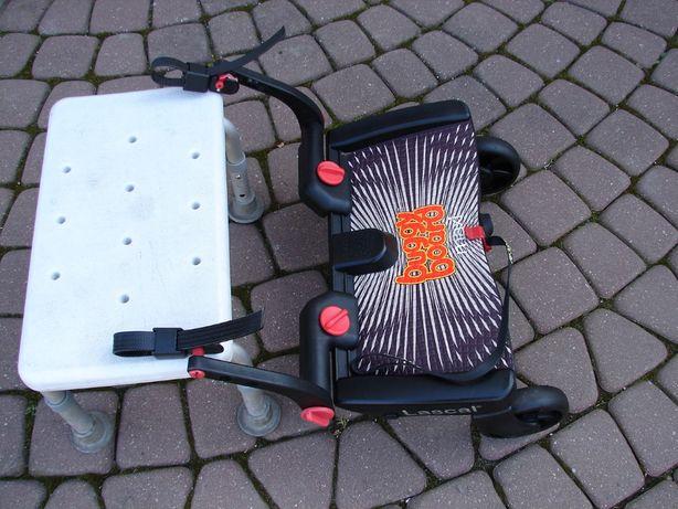 LASCAL dostawka do wózka +smyczka