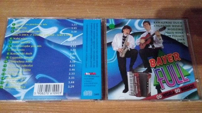 DISCO POLO Bayer Full – Od Wesela Do Wesela , CD 1998