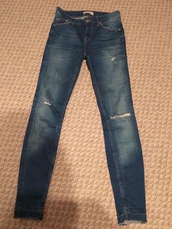 Zara premium ,jeansy rurki 34