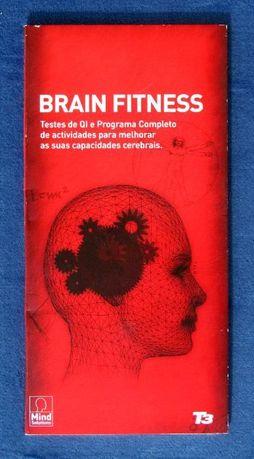 CD's de exercícios e testes de QI Brain fitness da Mind Solutions
