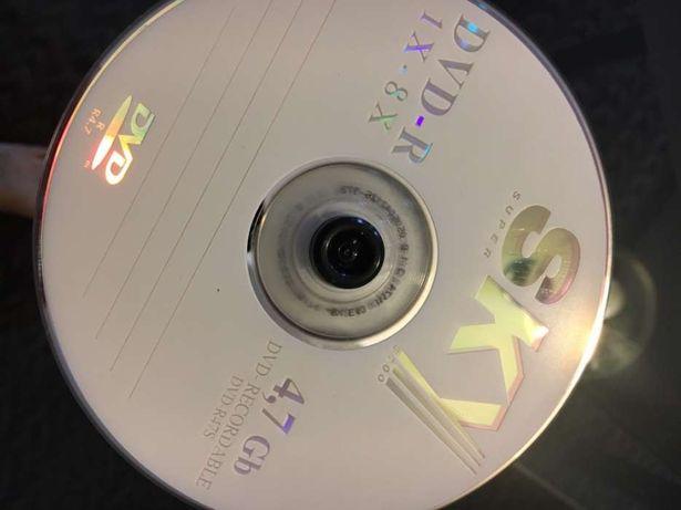 DVD para gravação