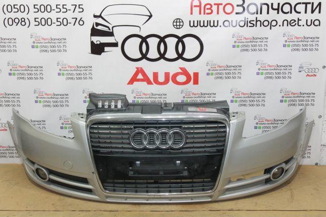 Бампер передний для Audi A4 B7 (бампер для Ауди А4 Б7)