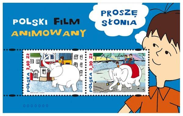 blok 209 Polski Film Animowany(Proszę słonia)