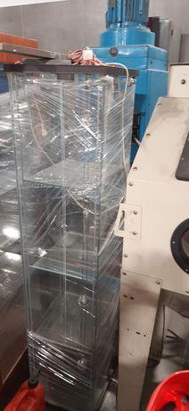 Witryna szklana sklepowa