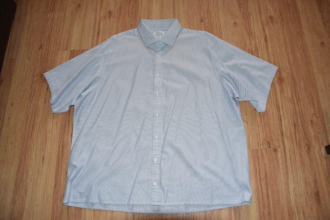 Koszula męska krótki rękaw roz 4XL/5XL