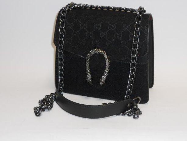 Gucci model Dionysus torebka listonoszka czarna
