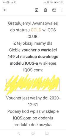 IQOS voucher 149 złoty
