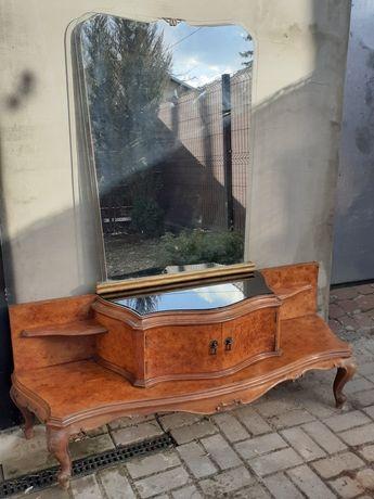 Toaletka konsola orzech antyk