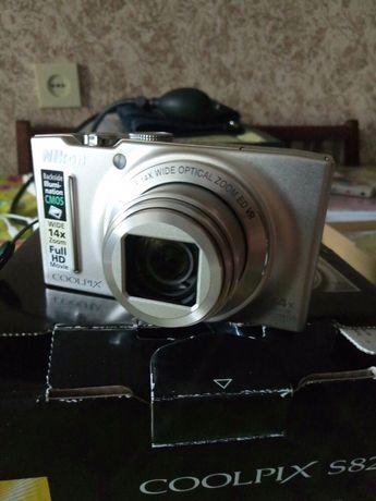 Цыфровой фотоаппарат Nikon Coolpix S8200
