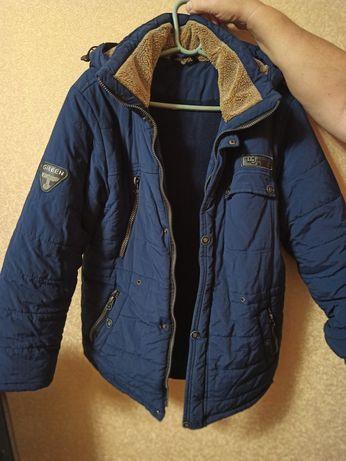 Куртка зимняя на мальчика 7-12 лет