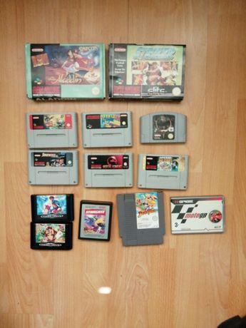 Nintendo snes Sega mega drive