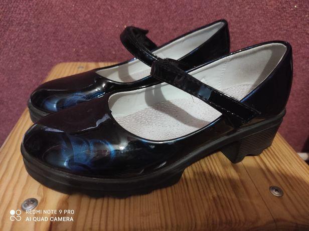 Туфли осень каблук