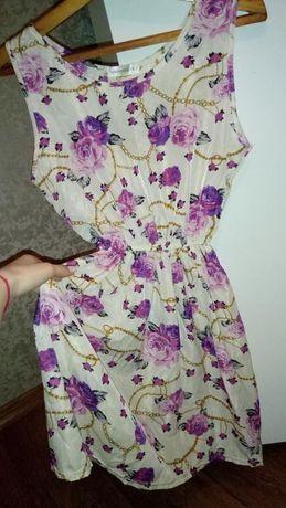 Лёгкое летнее платье azza М