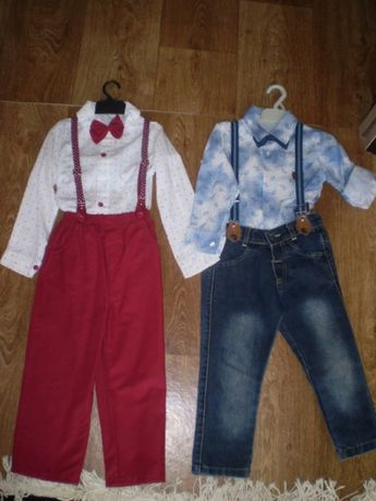 Продам два нарядных костюмчика для мальчика 1,5-4 года