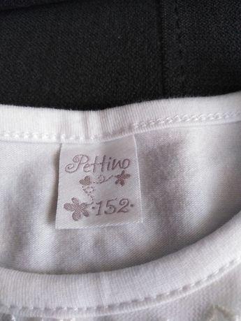 Biała bluzeczka bawełniana