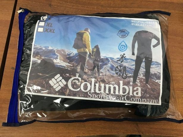 Новейшее мужское термобелье повседневное Columbia! Защитит в морозы