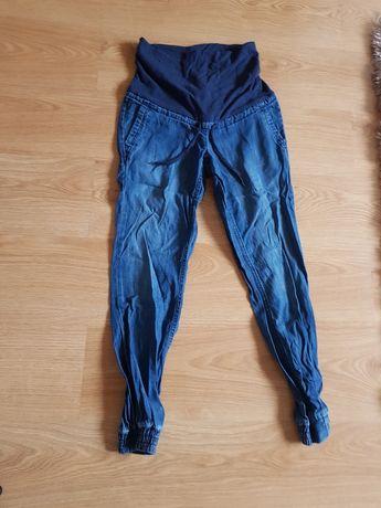 Spodnie jeansowe ciążowe rozmiar 34 sportowy styl H&M