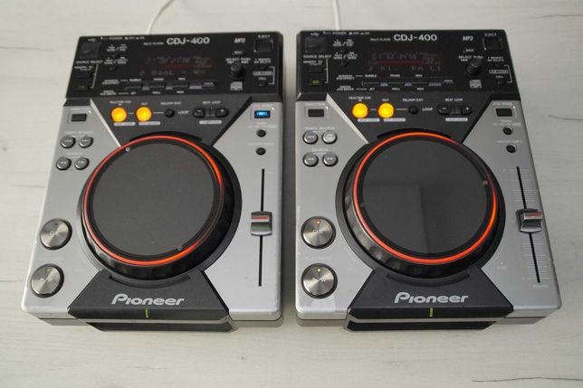 2 x Pioneer CDJ 400 Gwarancja Skup Zamiana DJM 250/350/600/700/750